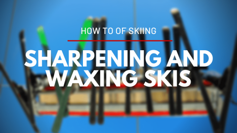 How to Tune your Skis at Home