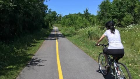 Cycling - Sentier du Parc de la Gatineau
